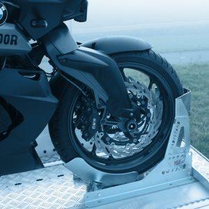 Wielklem motortrailer motoraanhanger